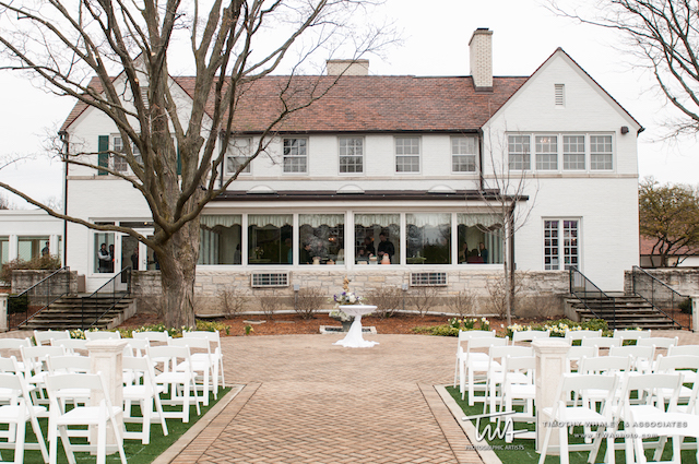 Danada House Front and Center Ceremony Location