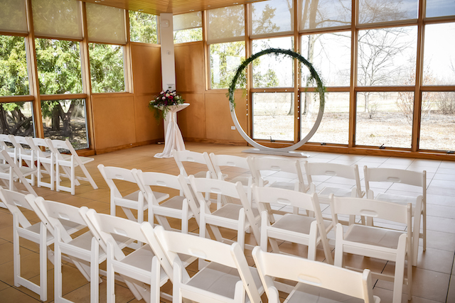 Indoor Ceremony at Danada House